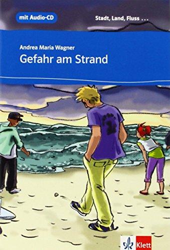9788423671441: Gefahr am Strand + CD Nivel A1 -ESO-