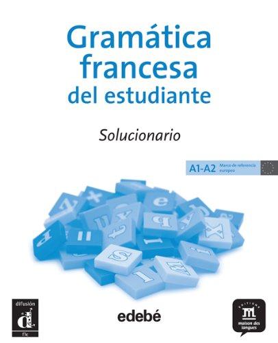 9788423671601: GRAMATICA DEL ESTUDIANTE FRANCES. SOLUCIONARIO