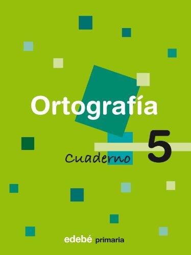9788423683314: Cuaderno De Ortografia: Book 5