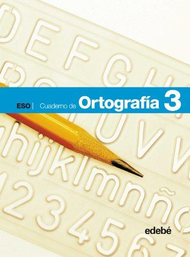 9788423684939: Cuaderno de Ortografía 3-9788423684939