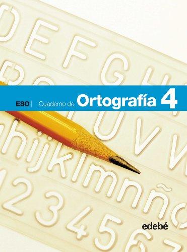 9788423685349: Cuaderno de Ortografía 4 - 9788423685349