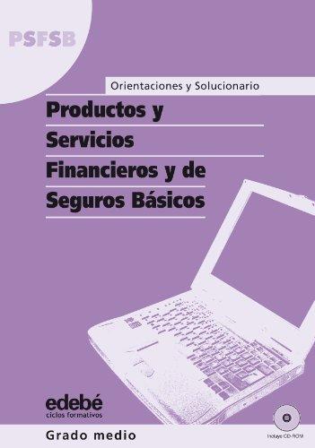 9788423686216: Orientaciónes y Solucionario Productos y Servicios Financieros y de Seguros Básicos