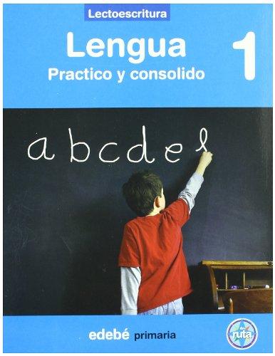 9788423686247: Proyecto En Ruta. Lengua. Aprendo Y Consolido. Lectoescritura. E.P. 1
