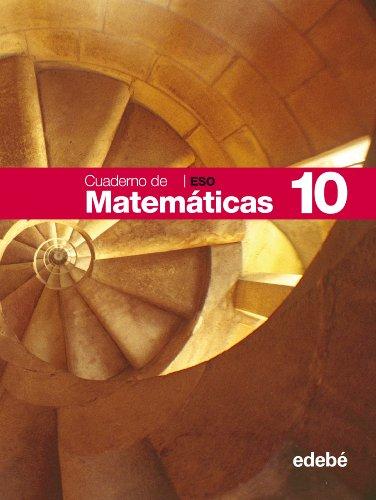 9788423687503: Cuaderno 10 Matemáticas - 9788423687503