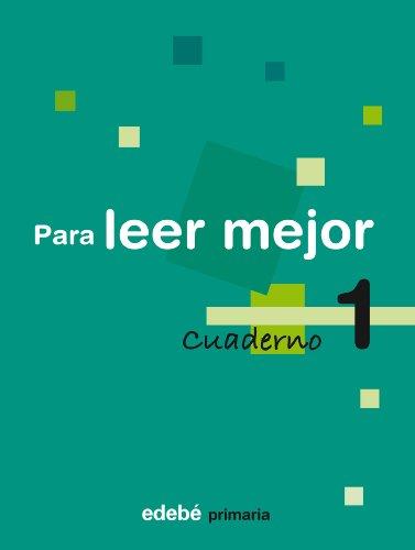 9788423690190: Cuaderno 1 Para Leer Mejor - 9788423690190