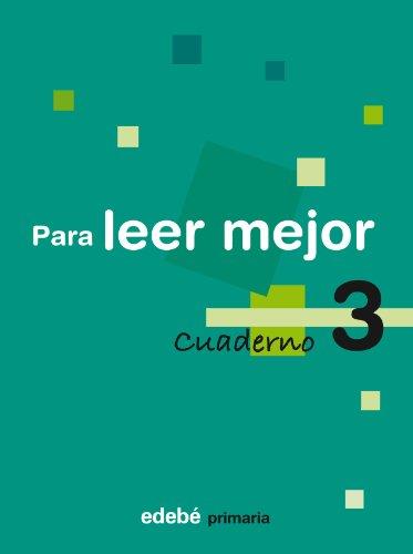 9788423690213: Cuaderno 3 Para Leer Mejor - 9788423690213