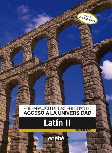 9788423695461: Preparación de las Pruebas de Acceso a La Universidad Latín II