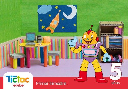 9788423697144: Tic Tac 5 Años Primer Trimestre - 9788423697144