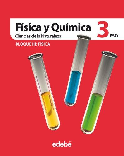 9788423697298: Ciencias de la naturaleza, física y química, 3 ESO - 9788423697298