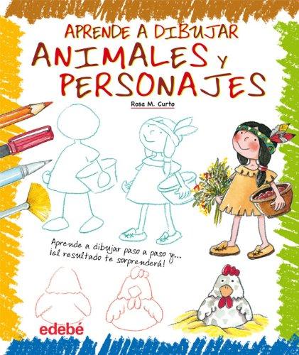 9788423699346: Aprende a dibujar animales y personas (Spanish Edition)