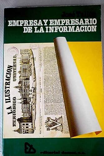 Empresa y empresario en la información: Tallón García, José
