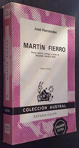 Martin Fierro - 20 Edicion (Spanish Edition): Hernandez, Jose