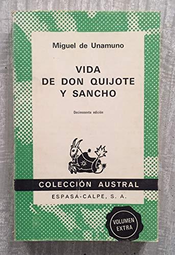 Vida de don quijote y Sancho: Miguel De. Unamuno