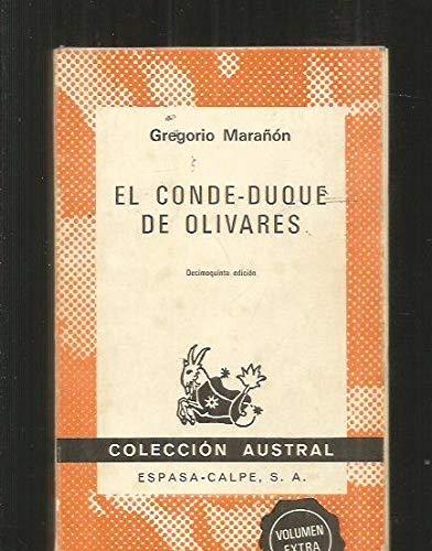 9788423900626: El conde-duque de Olivares