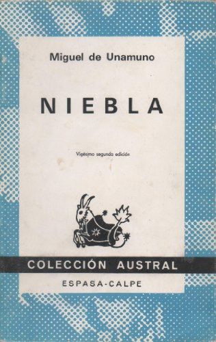 Niebla (Spanish Edition): Unamuno