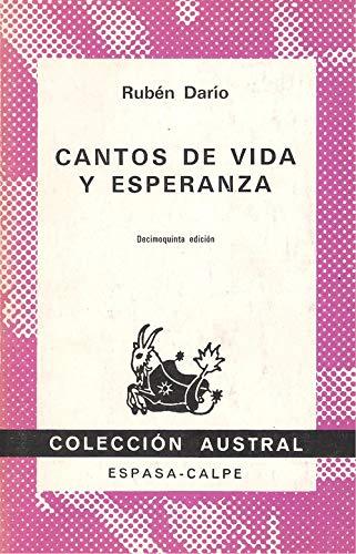 9788423901180: Cantos de Vida y de Esperanza (Spanish Edition)