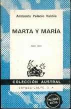 9788423901333: Marta Y Maria (Colección austral ; no. 133) (Spanish Edition)