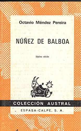 9788423901661: Núñez de balboa.(el tesoro del dabaibe)