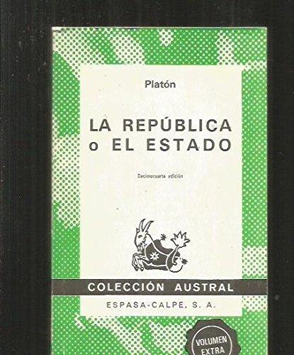 Republica o El Estado: Platón