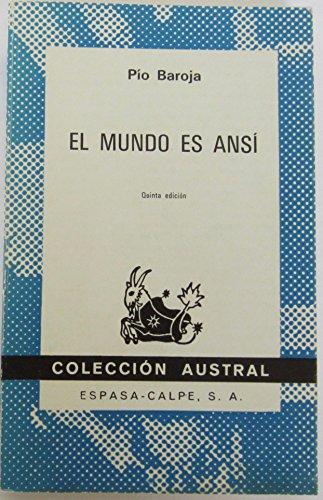 9788423903313: Mundo es ansi,el (Austral)