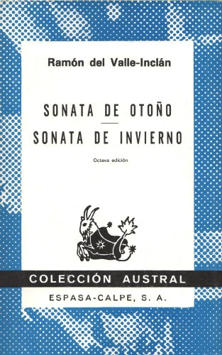 Sonata de Otono / Sonata de Invierno: Ramon del Valle-Inclan