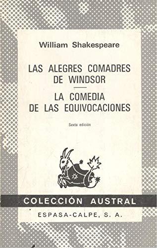 9788423904525: las_alegres_comadres_de_windsor_la_comed