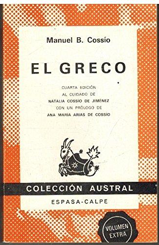 9788423905003: El Greco (Coleccion Austral, Volumen Extra)