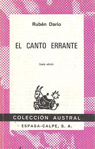 9788423905164: El Canto Errante