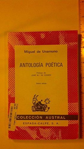 9788423906017: Antologia Poetica