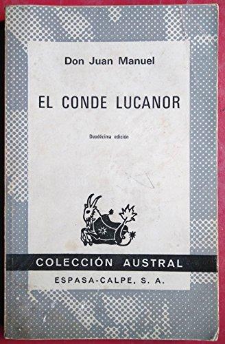 9788423906765: Conde lucanor, el