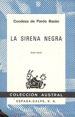9788423907601: La Sirena Negra