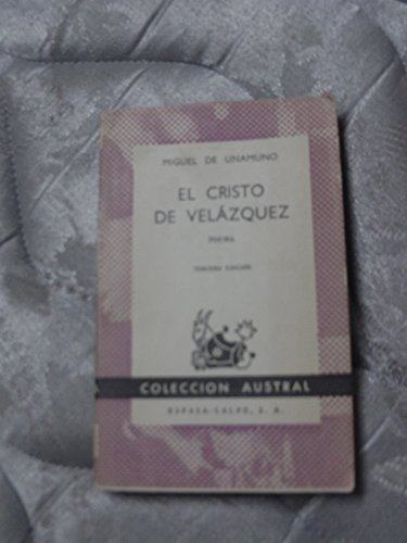 9788423907816: El Cristo De Velazquez (Spanish Edition)