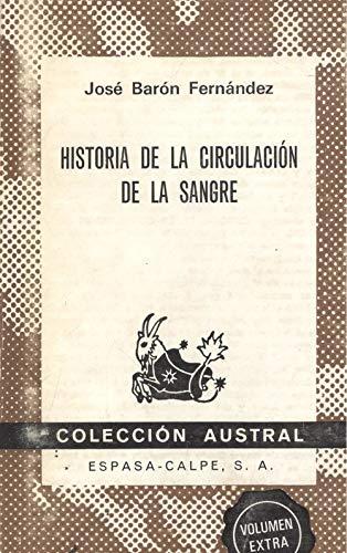 Historia de la circulación de la sangre: Barón Fernández, José