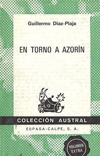 9788423915828: En torno a azorin (Colección Austral)
