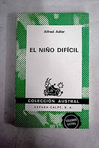 9788423916030: El Niño dificil