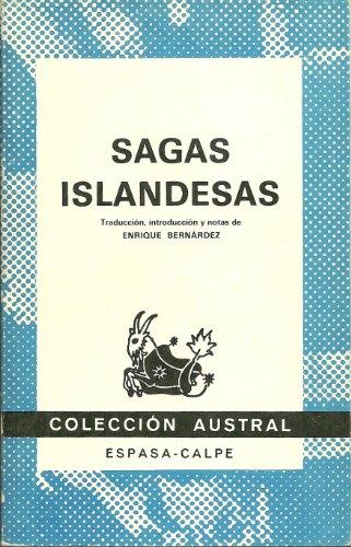 9788423916443: Sagas islandesas