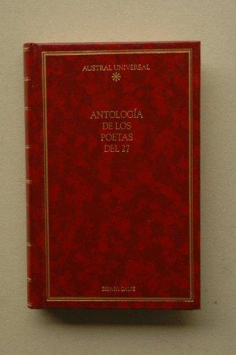 Antologia de Los Poetas Del 27: Varios, Espasa Calpe