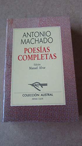 9788423918331: Poesias completas: Poesias Completas (Incl. Campos De Castilla)
