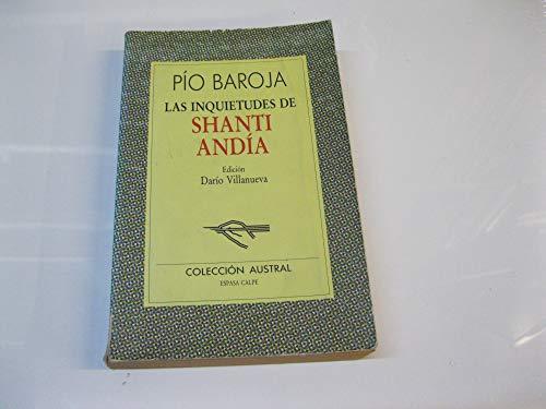 9788423918355: Inquietudes de shanti andia, las (Nuevo Austral)
