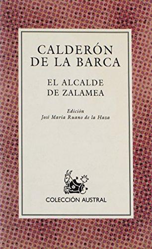 9788423918508: El Alcalde De Zalamea (Nueva Austral Series : Volume 50)
