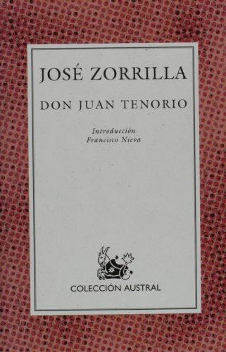 9788423918515: Don Juan Tenorio: Don Juan Tenorio (Nueva Austral Series)