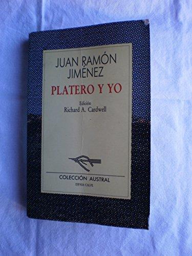 Platero y yo: Juan Ramon Jimenez