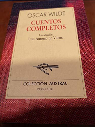 9788423918607: Cuentos completos (oscar wilde) (Nuevo Austral)