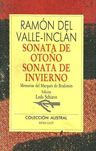 Sonata de otoño;sonata de invierno: Sonata De: Valle-Inclan