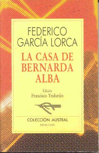 9788423918775: La casa de bernarda Alba: La Casa De Bernada Alba
