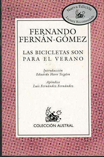 9788423919093: Las Bicicletas Son Para El Verano
