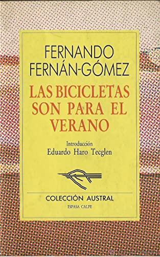 9788423919093: Las Bicicletas Son Para El Verano (Nueva Austral Series : Volume 109) (Spanish Edition)