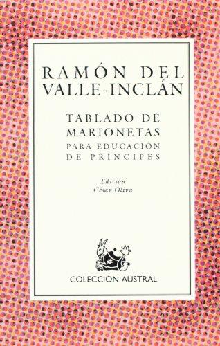 9788423919291: Tablado de marionetas (Spanish Edition)
