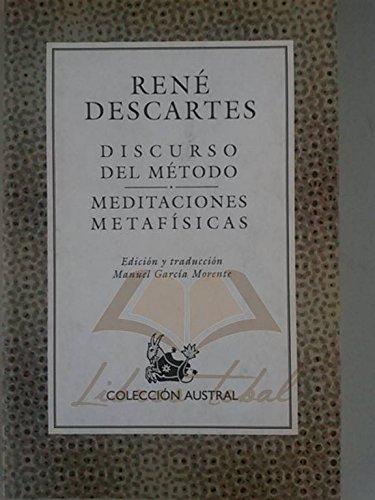 Discurso del método meditaciones metafísicas