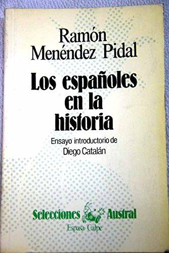 9788423919826: Los Espanoles En LA Historia.